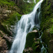 Waterfall in mountain — Stock Photo