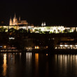 Prague by night — Stock Photo