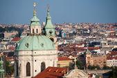 布拉格的全景视图 — 图库照片
