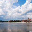 Panoramic view at Torun in Poland — Stock Photo