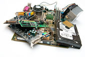 Computer components — Stock Photo