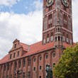 Stock Photo: Townhall in Torun in Poland