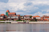Torun in Poland — Stock Photo