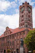 Townhall in Torun in Poland — Stock Photo