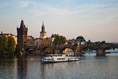 Charles's bridge in Prague — Stock Photo
