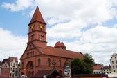 Church in Torun — Stock Photo