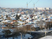 THE CITY OF OMSK — Stock Photo