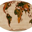 Stock Photo: Map of world