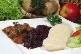 Venison goulash — Stock Photo