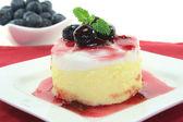 Vanilla-lemon dessert — Stock Photo