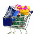 Stock Photo: Shopping Cart with presents
