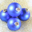 Christmas tree balls — Stock Photo