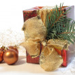 Hristmas gift — Stock Photo