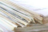 Pila de papel — Foto de Stock