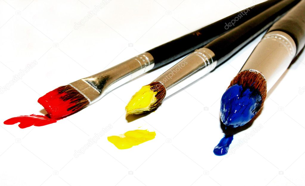 Brush with Color — Stok fotoğraf #1742934
