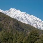 Snowy Tibetan mountains — Stock Photo #1621817
