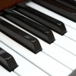 Piano keys — Stockfoto