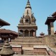 Temple of Baktaphur city, Nepal - Stock Photo