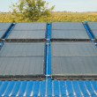 Solar water heating system — Stock Photo #1664894