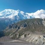Snowy Tibetan mountains — Stock Photo #1666765