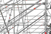 Construction scaffold isolated — 图库照片