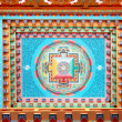Buddhistic painting - Stock Photo