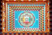 Buddhistickými malba — Stock fotografie