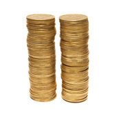 Dos torres de oro — Foto de Stock