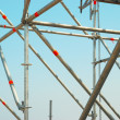 Part of the construction scaffold — Stock Photo #1708515