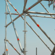 Part of the construction scaffold — Stock Photo #1709454