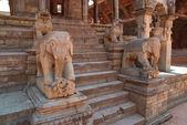Gamla buddhistic statyer — Stockfoto