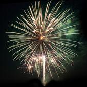 Vuurwerk, salute — Stockfoto