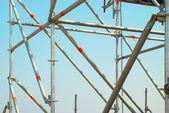 Onderdeel van de bouw steiger — Stockfoto