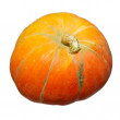 Orange pumpkin isolated on white. — Stock Photo