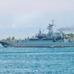 Russian warship — Stock Photo #1726487