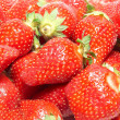Stock Photo: Red strawberries