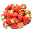 Red strawberries - Stock Photo