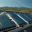 Vacuum solar water heating system - Photo