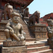 Old buddhistic statues - Stock Photo