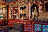 Insidan av buddhistic templet — Stockfoto