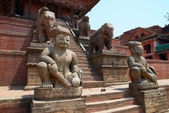Old buddhistic statues — Foto Stock