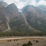 Tibetan mountain's landscape — Stock Photo #2286761