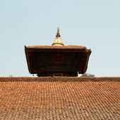 Temple's roof of Baktaphur city — Stock Photo