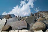 Tibetisches steine — Stockfoto