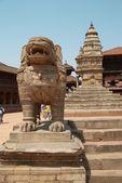 Estatuas antiguas de buddhistic — Foto de Stock