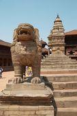 Estátuas de buddhistic velho — Foto Stock