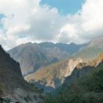 Tibetan mountain's landscape — Stock Photo #2529971
