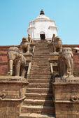 古い仏教の彫像 — ストック写真