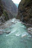 Río marsyangdi — Foto de Stock