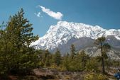 Himalayan mountains — Stock Photo